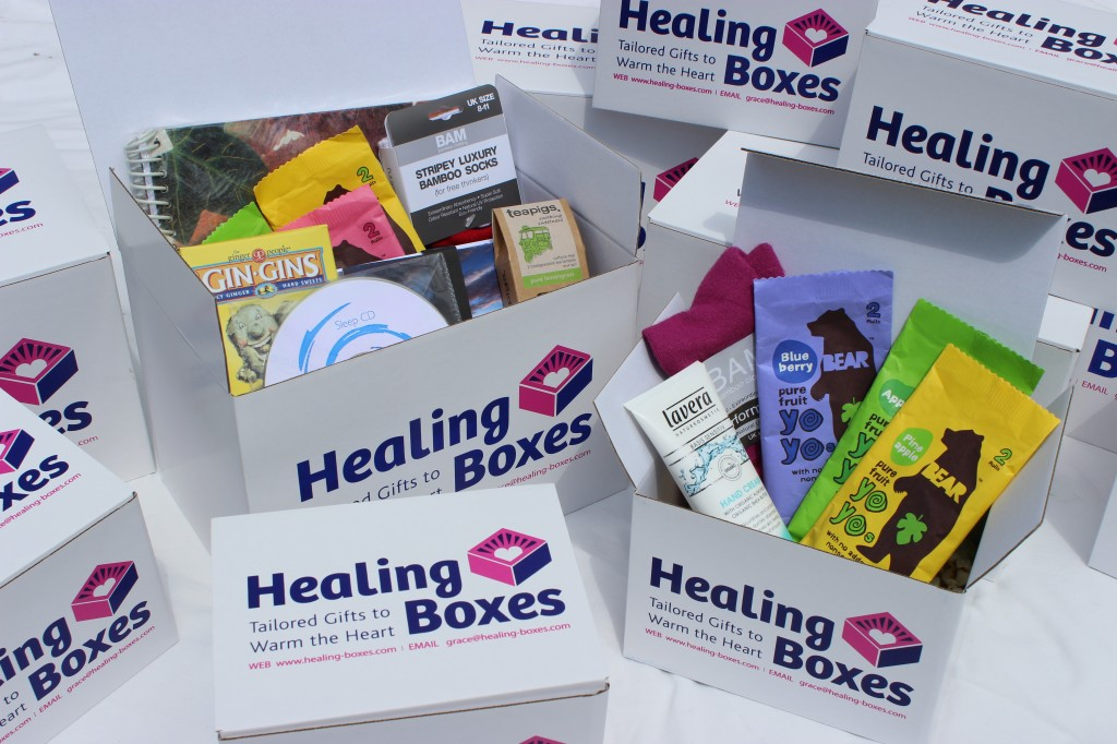 healing boxes hospital gifts multiple boxes image