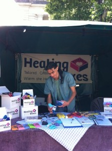 Healing Boxes Street Stall