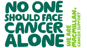 No one should face cancer alone - Macmillan