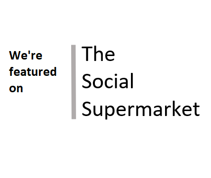 We're featured on The Social Supermarket