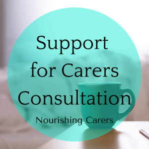 Support for carer's consultation