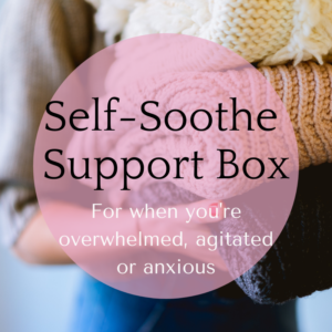 self-soothe support box